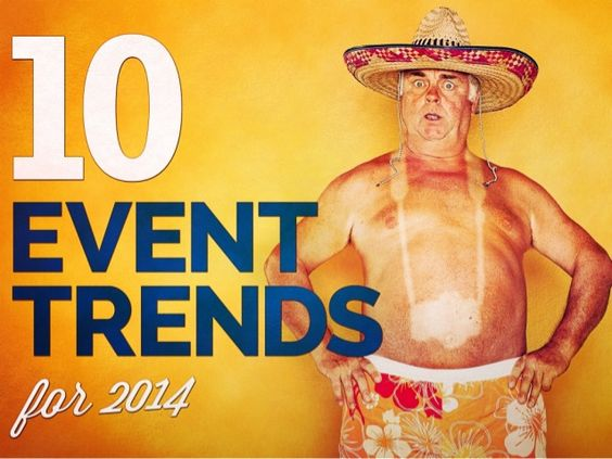 10 Event Trends for 2014 by Julius Solaris via slideshare