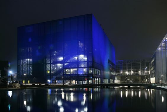 Copenhagen concert hall by Jean Nouvel _Image  © DR Koncerthuset