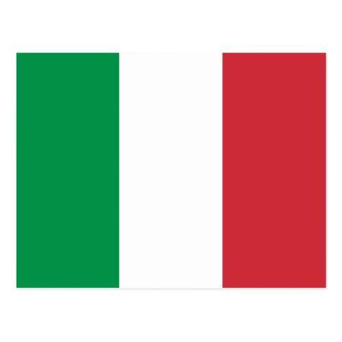 Italy Flag Postcard Zazzle Com In 2020 Italy Flag Postcard Flag