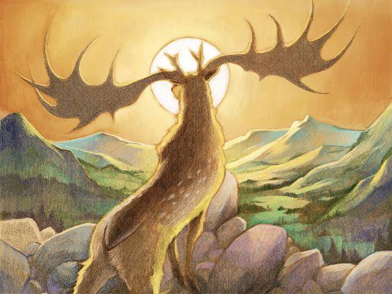 Ciro Art: Irish Elk