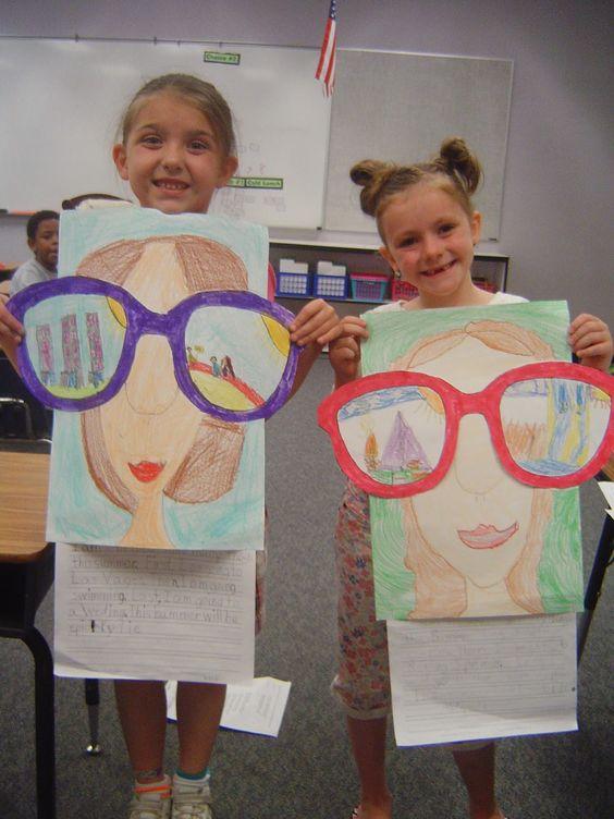 Картинки лето 5 класс нарисовать