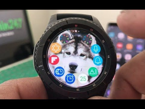 How To Put Custom Wallpaper On Your Gear S3 In 2019