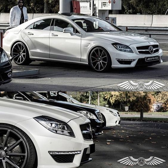 Mercedes #CLS63 #AMG on #Vossen #VFS1