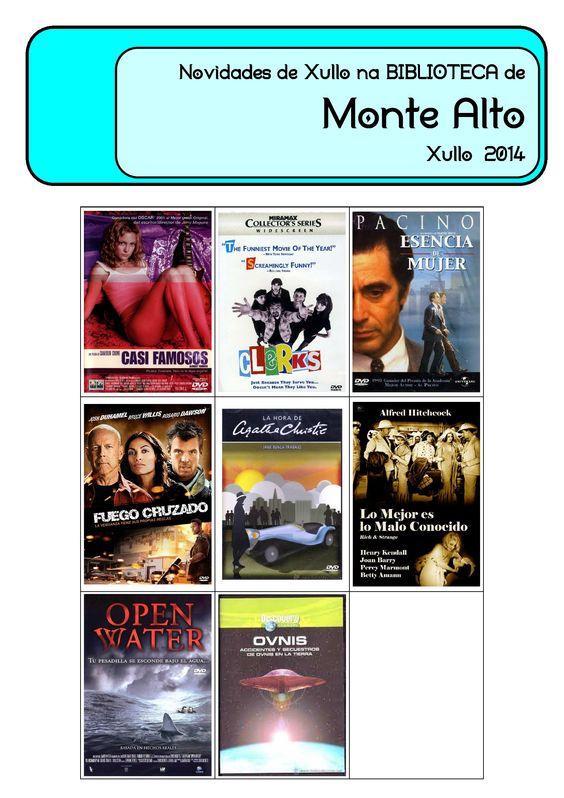 Novos audiovisuais para adultos na biblioteca municipal de Monte Alto.