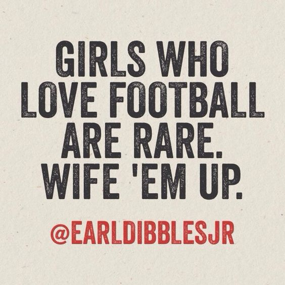 Girls who love football are rare. Wife 'em up. RollTideWarEagle.com great sports stories, audio podcast and FREE on line tutorial of college football rules. #CollegeFootgall