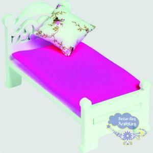 cama solteiro linha provencal
