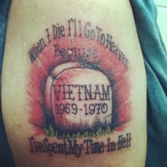 Vietnam tattoo i did in honor of dad pinterest for Vietnam tattoo ideas