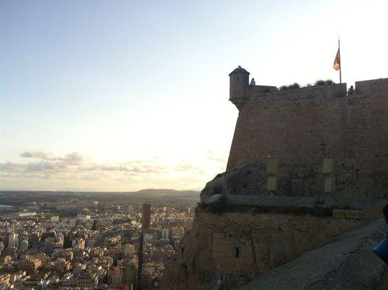 Castello di Santa Barbara  Alicante Spagna