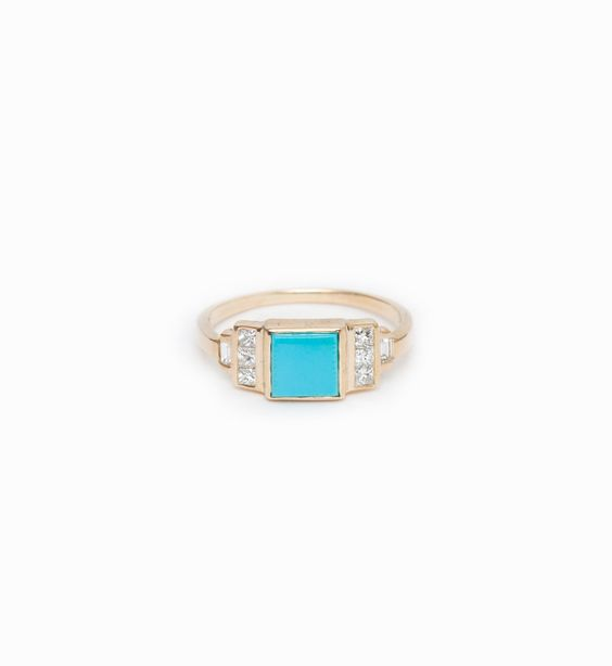 Square Turquoise Band