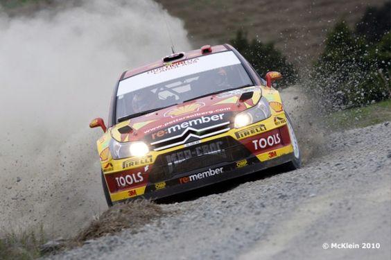 WRC Petter Solberg 2010 New Zealand