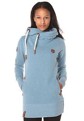 NEU NAKETANO Darth Long VI Damen Kapuzenpullover Pullover Hoodie Kapuzenjacke