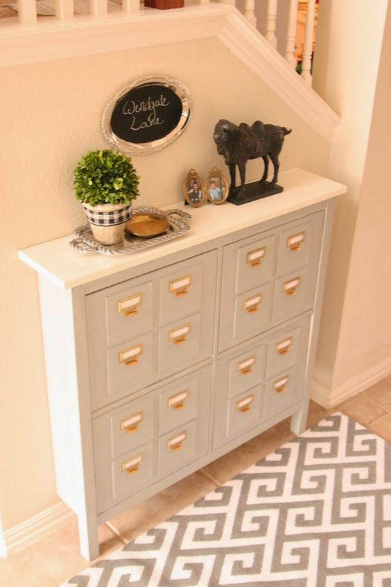 entryway ikea shoe cabinet and drawer pulls on pinterest. Black Bedroom Furniture Sets. Home Design Ideas