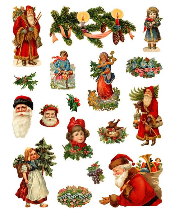 Dover Samples | Christmas clip art