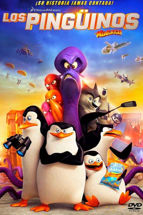 Skypper Kowalsky Rico Y Cabo Los Superagentes Pinguinos Tienen Que Salvar El Mundo En Una Mision Para La Penguins Of Madagascar Madagascar Movie Madagascar