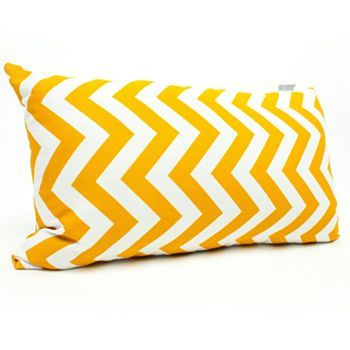 Majestic Home Goods Chevron Indoor Outdoor Small Decorative Pillow; Kohl's ($32)