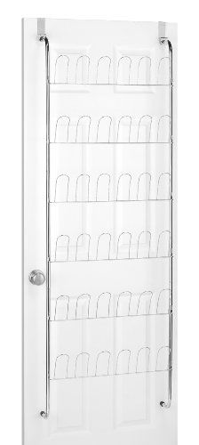 Whitmor  6060-195 Over The Door Shoe Rack, Chrome by Whitmor Mfg. Corp., http://www.amazon.com/dp/B0000TQGF4/ref=cm_sw_r_pi_dp_AsN7qb12QECTM