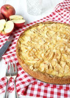 Rezept: Apfel Schmand Kuchen mit Espressoboden | waseigenes.com Blog