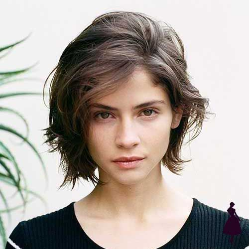 Looks Con Pelo Corto Para Mujer Con Corto Looks Mujer Para Pelo In 2020 Low Maintenance Haircut Oval Face Hairstyles Low Maintenance Short Haircut