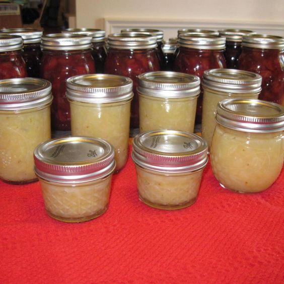 Well by now, it is clear I have fallen in love with canning and when I happened upon this recipe I just had to try it out. It sounded delish and easy enough to make that I couldn't go wrong. Not only will this be wonderful as a spread on toast but I think it would be wonderful as a filling for a yummy cake or on top of some waffles or pancakes. Yumm  Source:http://americanpreppersnetwork.com