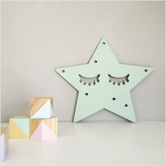 Image of Birch Plywood Sleepy Star:
