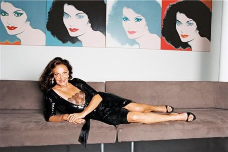 Diane von Fürstenberg, (born 31 December 1946) is a Belgian-American fashion designer best known for her iconic wrap dress. She initially rose to prominence when she married into the German princely House of Fürstenberg, as the wife of Prince Egon of Fürstenberg. She re-launched her fashion company, Diane von Fürstenberg (DvF), in 1997, with the reintroduction of her famous wrap dress. The company's headquarters and flagship boutique are located in Manhattan's Meatpacking District.