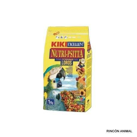 Complementos para animales - Piki Nutri-Psitta loros 1kg - Complementos para animales