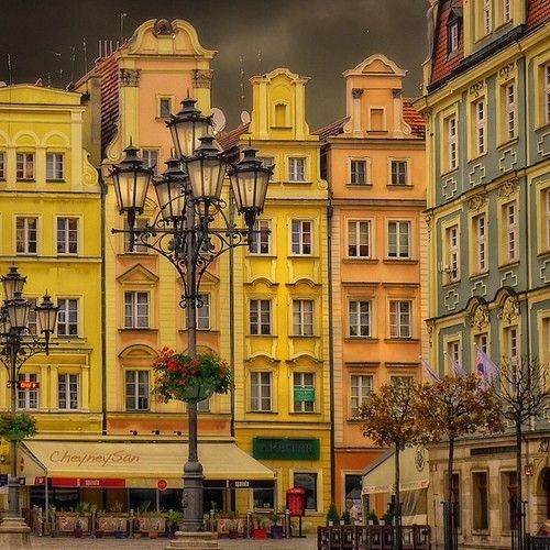 Poland, Wroclaw. I love this place since my oldest son served his mission here.
