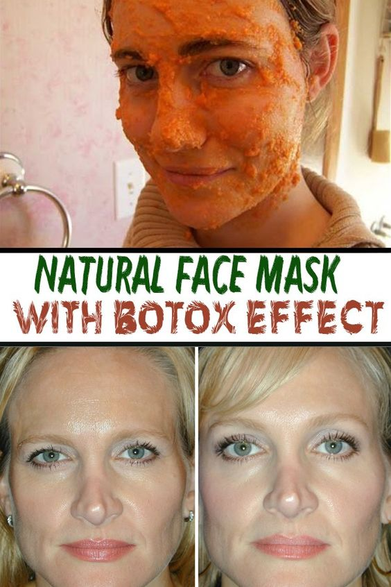 Natural Face Mask with Botox effect ==: