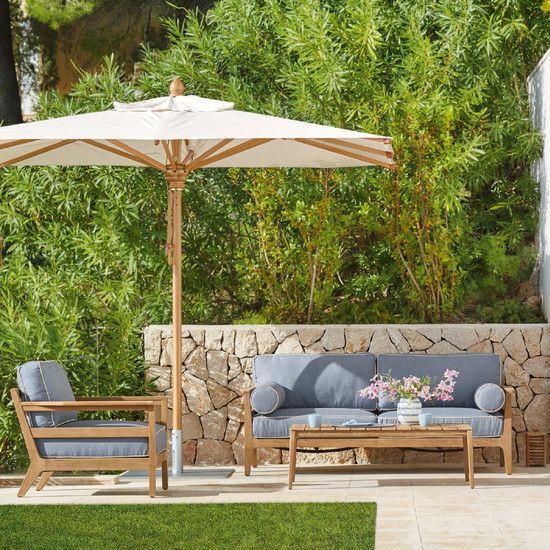 Newhaven Sofa In 2021 Lounge Mobel Gartenmobel Teak Holz
