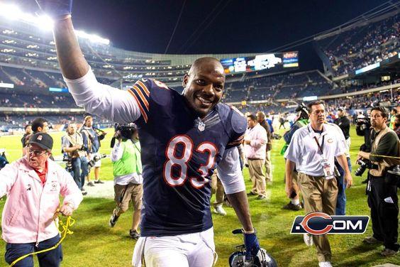 On the sideline: Bears vs. Giants