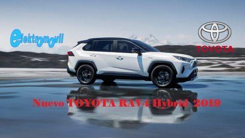 Nuevo Toyota Rav4 Hibrido Hybrid 2019 Elektromovil 2019 Los