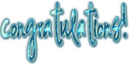 Image result for turquoise congratulations clipart