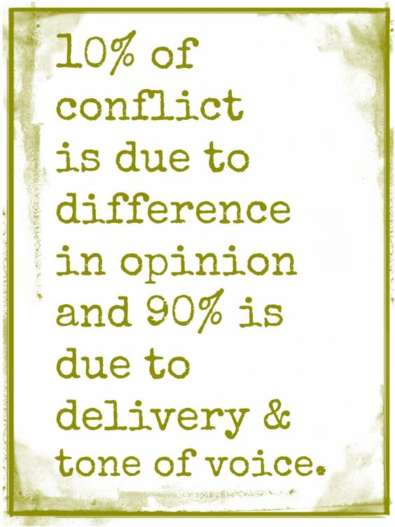 How do you handle conflict? Join the discussion by clicking on this image, and share your thoughts.: