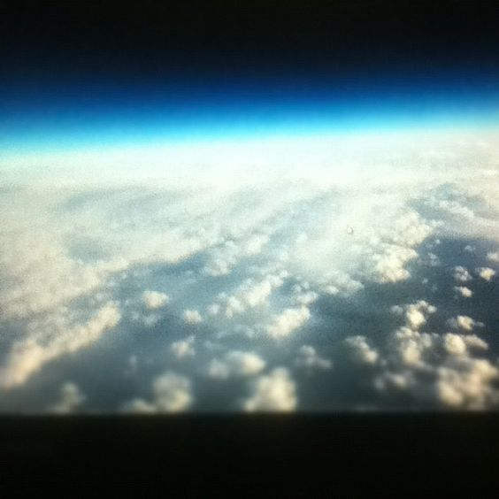 clouds in space