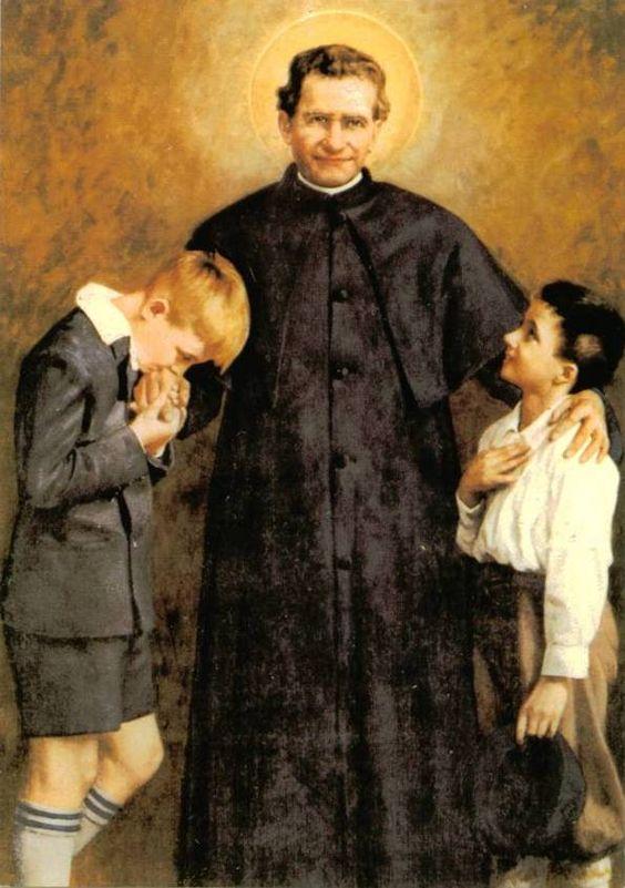 Don Bosco Siempre Al Lado De Los J Venes Salesianidad