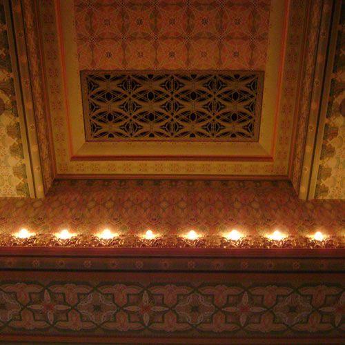 Chicago Stock Exchange Trading Room by Adler & Sullivan: ceiling