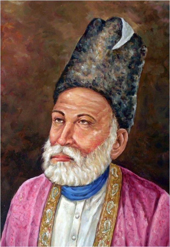 Mirza Asadullah Baig Khan (Ghalib) | VINTAGE INDIA | Pinterest