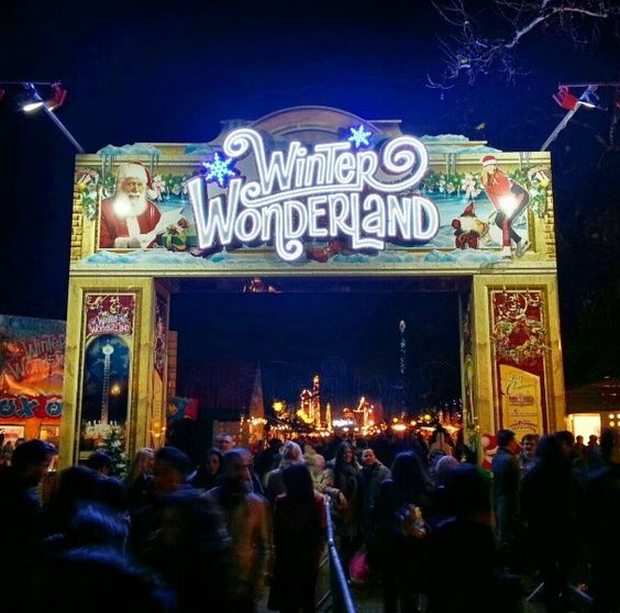 This is my London - Hyde Park winter wonderland even when the fair has gone home Hyde Park is a wonderland in its own right!
