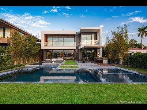 $14.5M. Luxury House in Miami Beach, Florida   Miami houses, Luxury homes,  Miami beach