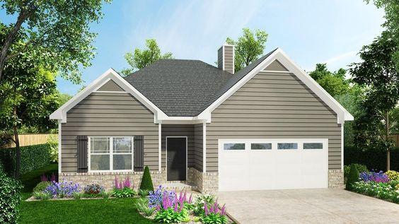 1624 - Cottage in Evergreen Farms | New Homes in Murfreesboro TN