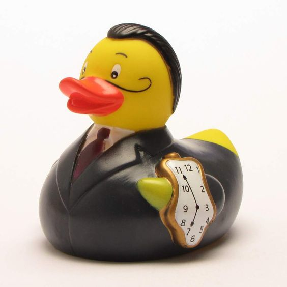 Salvador Dali Rubber Duck Bath Duck Rubber Ducky Rubber Duckie | eBay
