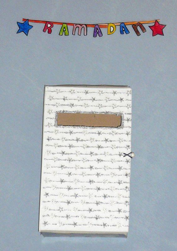 La boîte aux lettres du Ramadan,(tuto d'un calendrier original pour passer le mois jusqu'à l'Aïd)