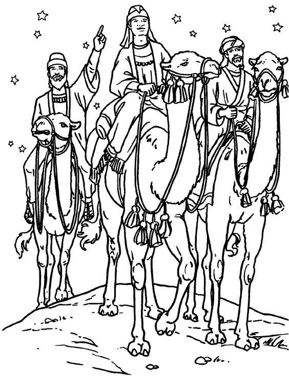 Postal de los Reyes Magos de Oriente