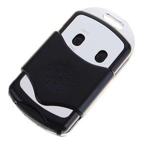 Spy Listening Devices Rechargeable Mini Voice Spying Bug Triband SPY Device Audio Detector (Black)