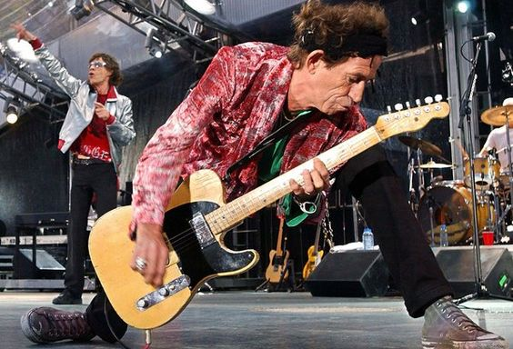 Iconic Rock Guitars And Their Owners Keith Richards Rolling Stones Guitar Solo