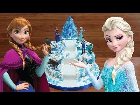 Youtube Frozen Birthday Cake Make Birthday Cake Cake Decorating Tutorials