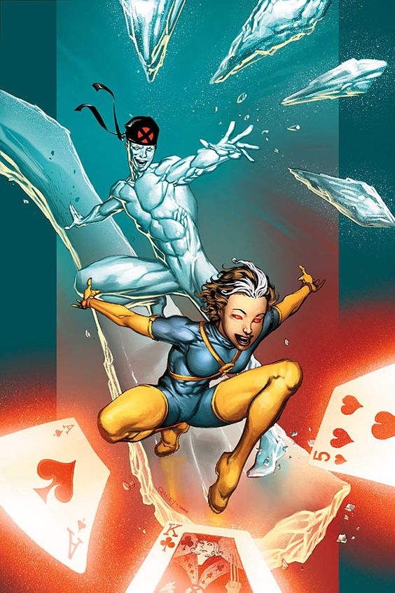 x men iceman and rogue meet