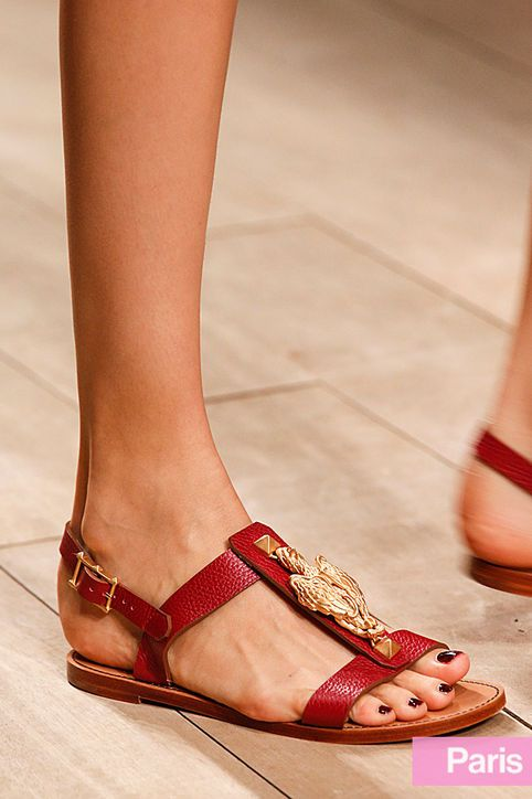 The Best Shoes, Flats, Heels at Spring 2014 Fashion Week: Fashion: glamour.com