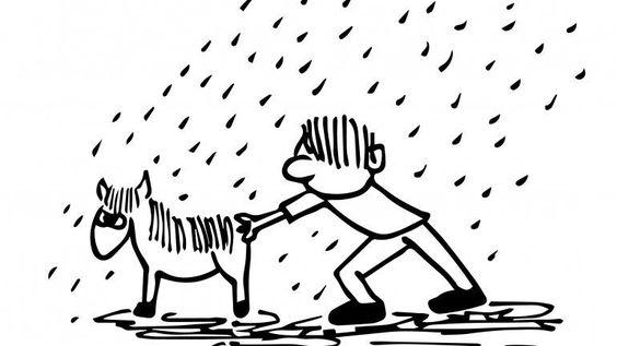 Expressões portuguesas idiomáticas ilustradas de forma literal - Observador