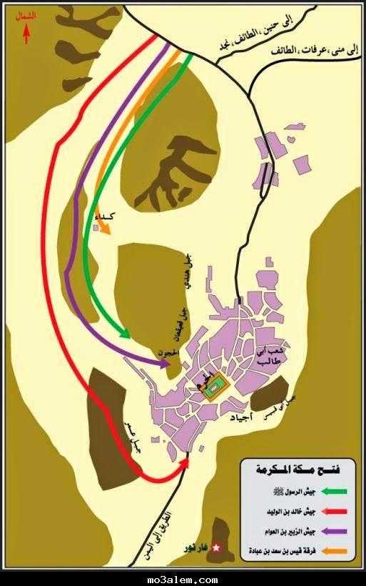 كنوز التاريخ قديمه وحديثه فتح مكة 8 هـ History Poster Art